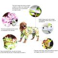 10 Size Waterproof 4 Legs Pets Raincoat