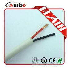 Shenzhen Fabricación 22 AWG Cobre desnudo Conductor trenzado 2C conectores de cable de altavoz