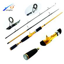 CTR004 Китай рыболовные снасти удочку ловлю рыбы на спиннинг литья удочкой