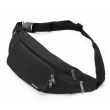 Saco de cintura reflexivo personalizado da cintura do esporte da correia running com bolsos múltiplos