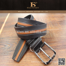 New hot sale Best sale custom Foldable folding fashion genuine pu belts for men genuine pu jeans belt for man