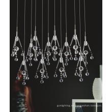 Lámpara colgante de cristal moderno Greatroom LED (MP36006-12)