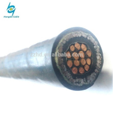 450 / 750V 2.5mm2 cu xlpe isolé ruban d'acier Armored Control électrique Câble