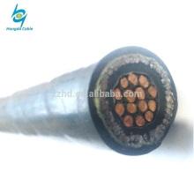 450 / 750V 2.5mm2 cu xlpe isolou o cabo elétrico do controle blindado de aço da fita