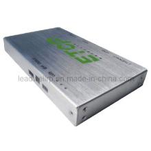 Protótipo escovado superfície do metal de folha para o reprodutor de DVD (LW-03004)