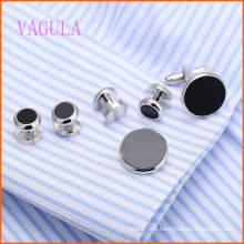 VAGULA Fashion New Design Gold Plated Gemelos Copper Cufflinks Sets