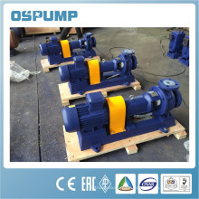 Lined swimming pool pump