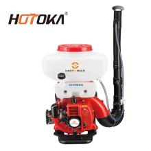 Máquina de pulverizadores de niebla con pulverizador de mochila con motor de gasolina
