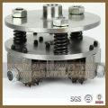 China Fornecimento Profissional de Fabricação de 3t45s Diamond Bush Hammer