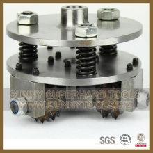 Professional High Quality Diamond Grinding Bush Hammer Wheel