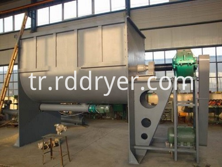 Horizontal Twin Shaft Paddle Mixer