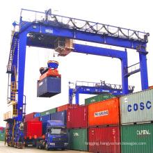 40ton Tire-mounted Double Girder Port Container Gantry Crane