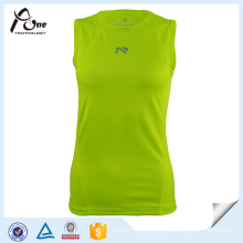 Gilrs Spandex Top Dry Fit Singlets Ropa de fitness