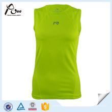 Gilrs Spandex Top Dry Fit Maillots Vêtements de Fitness