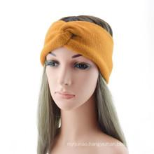 Bandeau fascia per capelli Wollen knitted Braid cross sports headband ear protection headgear Winter Thick hair accessories
