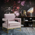 Best price factory new design one seater pink sofa chair leisure accent chair bedroom using
