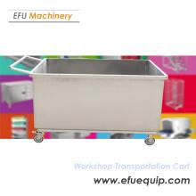 Stainless Steel workshop transportation carts