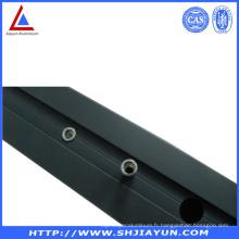 6063 Extrusion personnalisée en aluminium avec usinage CNC