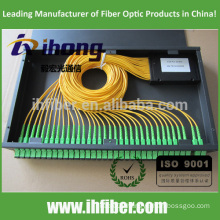 PLC SC APC 2*32 fiber Optical splitter