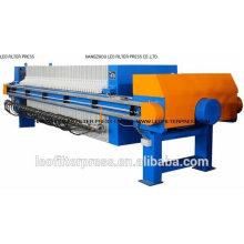 Leo Filter Press Opération entièrement automatique Presse à membrane à huile de palme
