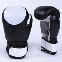 Guantes de boxeo de encargo al por mayor de la PU del logotipo guantes de boxeo tailandeses del retroceso