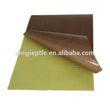 Composites with non-stick non adhesive teflon tapes