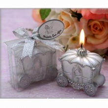 Nice wedding candle, gift candle in fashion wedding car design, valentine candle, craft candle