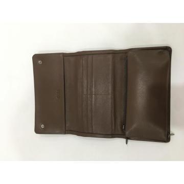 Long Section Youth Leather Handbag Men's Bag Multi-Function