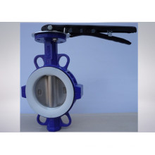 Válvula Borboleta Industrial Não-Corrosiva