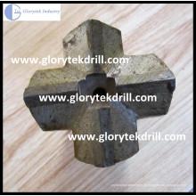 Cross Bits für Rock Bohren Arbeiten
