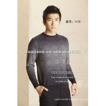Luxury men's pullover Cashmere sweater
