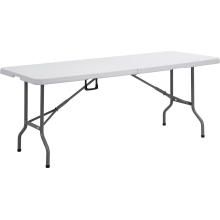 Venda al por mayor la tabla plegable plástica 6FT, tabla que acampa, tabla de cena