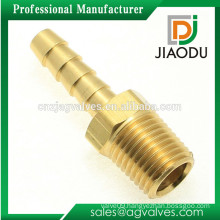 Custom Made OEM/ODM 1 2 3 4 inch DN15 20 China high quality high pressure brass copper male hose advanced pipe fitting