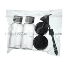 Plastic Cosmetic Travel Bottle Set (NTR05)