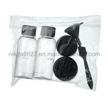 Conjunto de garrafa de viagem de cosméticos de plástico (NTR05)
