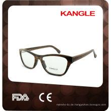 Heiße handgemachte optische Rahmen Bambus Gläser Holz Gläser
