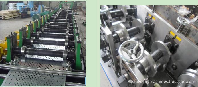 Lintel channel forming line machine