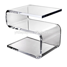Table claire pliée acrylique pour les meubles à la maison