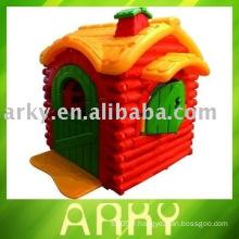 Maison en plastique pour jouets pour enfants