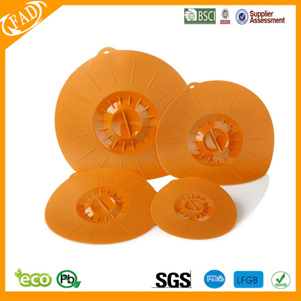 Flexible Silicone Lid