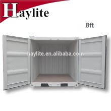 mini cube 6ft 7ft 8ft 9ft set conteneur d'expédition sec pour le stockage