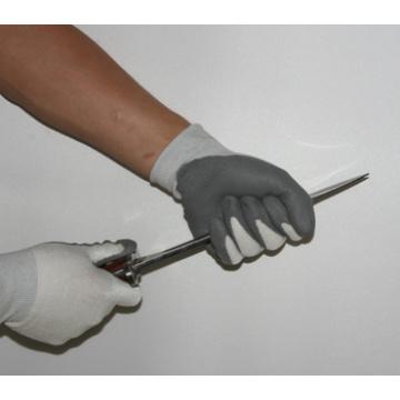 Latex beschichtete Handschuhe stricken Sicherheit