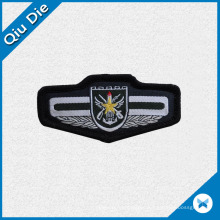 Customiaed Shape Woven Patch for Shoulder Coating Labels
