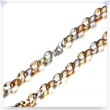 Collar de la manera de la joyería de la manera Cadena del acero inoxidable (SH048)