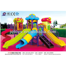 JS07302 Hot Outdoor Tubo de plástico Playground Toy brinquedos de metal ao ar livre parque infantil