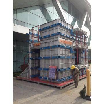Coffrage en aluminium pour la Construction