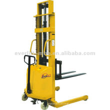Straddle leg wide leg Empilhador semi-elétrico Empilhador manual semi-elétrico