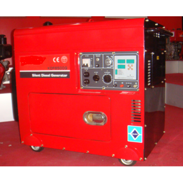 6.5 KVA Air Cooled Silent Generator Used for Oven Fridge TV Computer Air Condition and lights