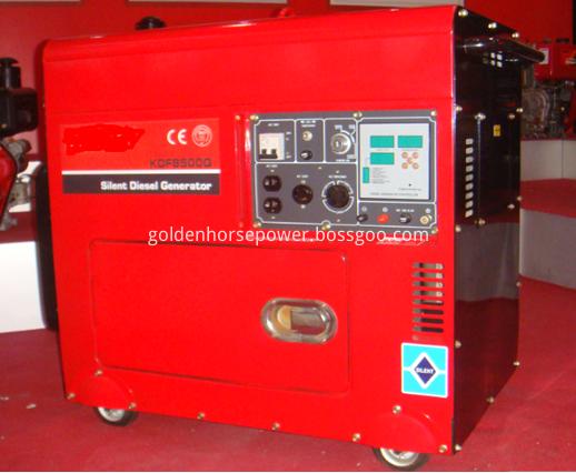 5KVA air cooled silent diesel generator