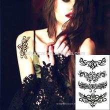 Fácil transferência de adesivos de beleza rosto mulheres tatuagem da China